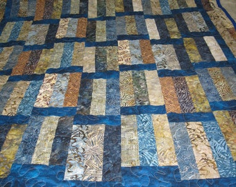 Lap Quilt Blueberry Coffee Cake