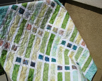 "Lap Quilt - Garden Window 53"" X 65"" SALE SALE SALE"