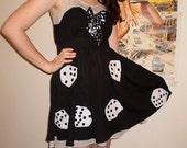 Quirky Casino Night Dice Dress
