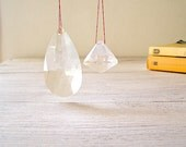 Vintage Chandelier Crystals Listed by MeshuMaSH on Etsy