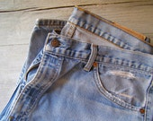 Vintage Levis Jeans, Size 48, model 521, Country Fashion, Cowboy, Gift for man, Gift for Dad, levi strauss, Western, Rodeo