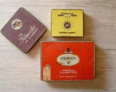 Vintage collectible Tins from different places of the world