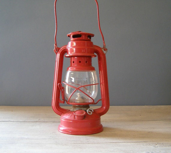 Red Lantern Lamp, EMEL Railroad lamp