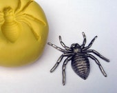 SPIDER - Food Quality non-toxic flexible silicone mold/mould - kawaii, resin, scrapbooking, wax, soap making