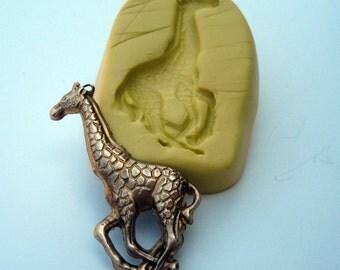 Running Giraffe Flexible Silicone Push mold Food Quality non toxic flexible silicone mold of tall GIRAFFE