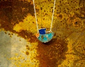 Upcycled 'Fishing Boat' Pendant (made from bottle tops)