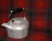 Large Aluminum Kettle: Wooden Handle, Modernware