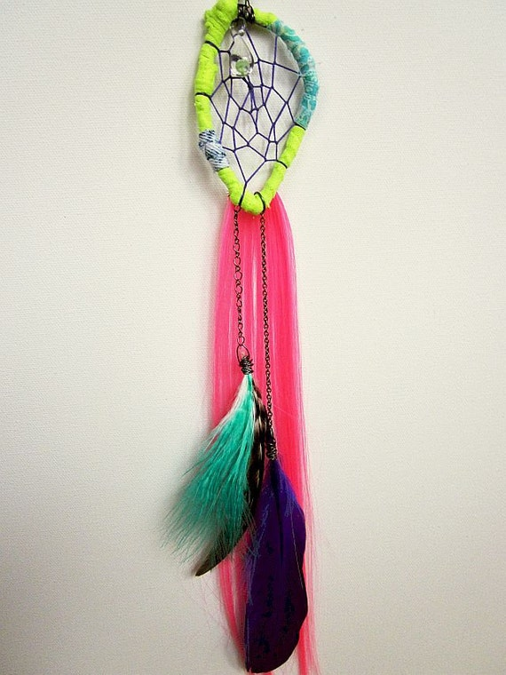 Gypsy Raver Dreamcatcher Single Earring