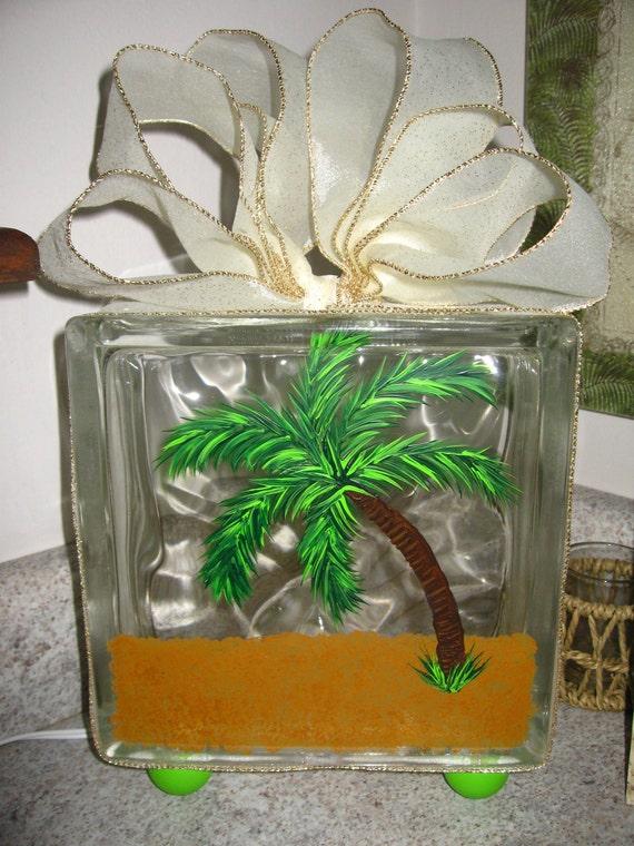Decorative Light Blocks : Items similar to decorative light up glass block on etsy