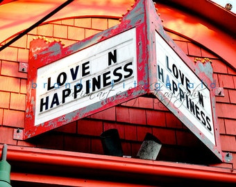 """Marquee  """"Love n Happiness"""" - Architecture"""