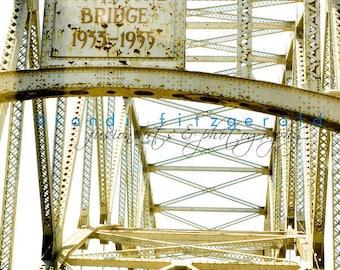 Sagamore Bridge Cape Cod Shore Decor Industrial Architecture Fine Art Photograph