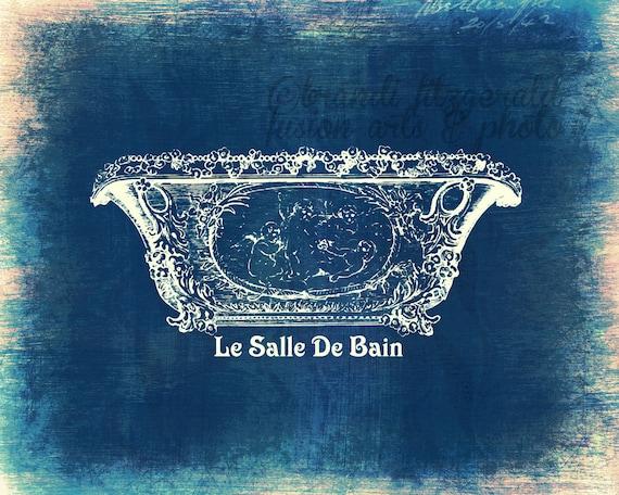 La salle de bain shabby chic cottage vintage by brandifitzgerald - Salle de bain shabby chic ...