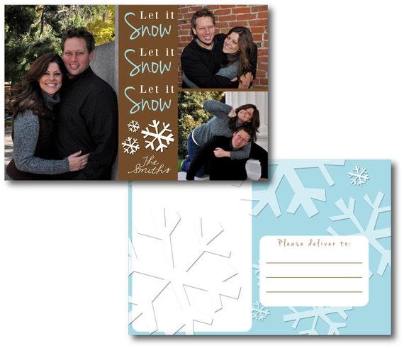 Holiday Photo Postcard 4x6