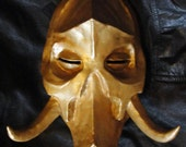 KONAHRIK Dragon priest mask full size polymer clay skyrim