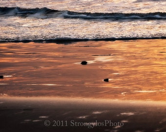 Photography, Beach Decor large 11x14 beach photo, California sunset, nautical decor, Imperial Beach, CA StrongylosPhoto ocean photo