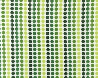 Green Dot Stripes From Robert Kaufman