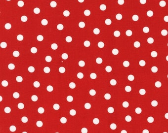 Red Remix Dots From Robert Kaufman