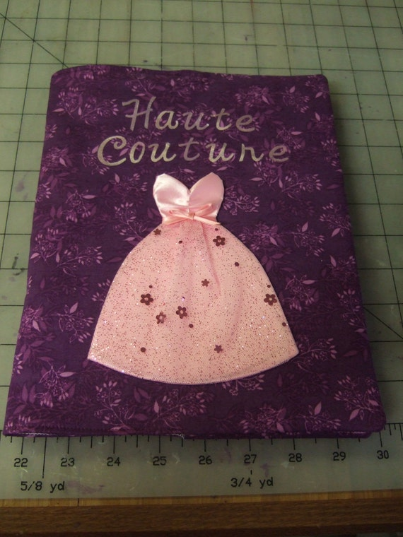 Fabric Book Covers Etsy ~ Items similar to fabric book cover tutorial on etsy