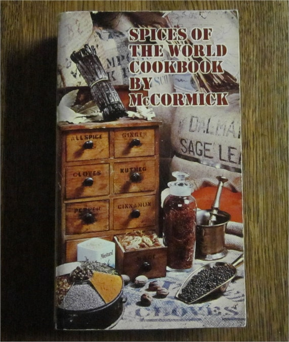 SALE Spices of the World Cookbook, McCormick, 1964