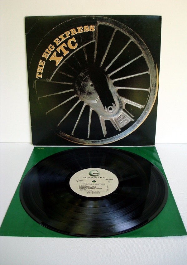 XTC The Big Express Vintage Vinyl LP GHS 24054