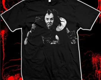 "Road Warrior ""Wez""- Pre-shrunk, hand screened 100% cotton t-shirt"
