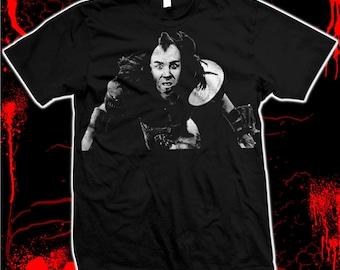 "Road Warrior ""Wez""- Pre-shrunk, hand screened 100% cotton t-shirt"