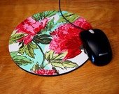Amy Butler Floral Mouse Pad Hot Pad