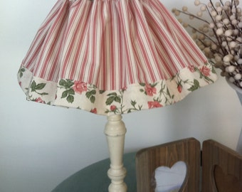 Lamp Shade Cover Vintage Embroidered Linen Cotton By Beodd