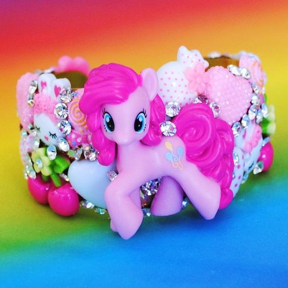My Little Pony Cuff Bracelet Swarovski Crystal