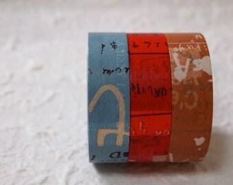 NEW COLOR    masking tape 3 rolls set  (45204-02 B color 15mm)