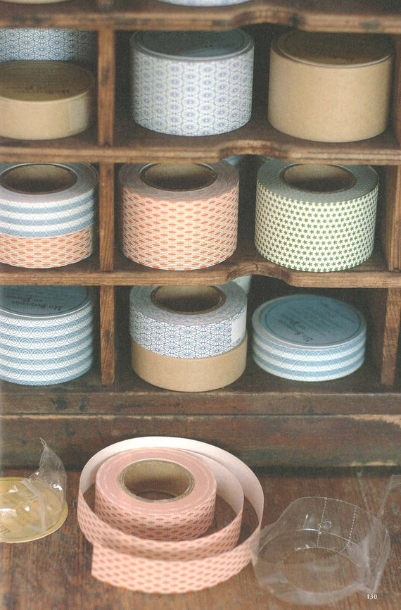 water glue tape (30mm) 5 colour options