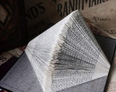 Decorative Origami Book Sculpture - 'Wuthering Heights'