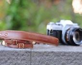 Handmade Premium Cow Leather vintage design camera strap