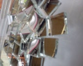 50 Mosaic MIRROR TILE - 1 inch - Stained Glass Mosaic Supply M10