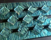 BLUEGREEN VAN GOGH Stained Glass Mosaic Tile Supply B23