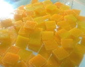CLEARANCE - MARIGOLD ODD Size Stained Glass Mosaic Tile Supply O7