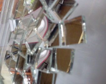 MIRROR TILE - Stained Glass Mosaic Supply M5