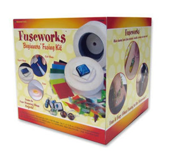 FUSEWORKS MICROWAVE KILN - Do it Yourself Fusible Stained Glass Kit