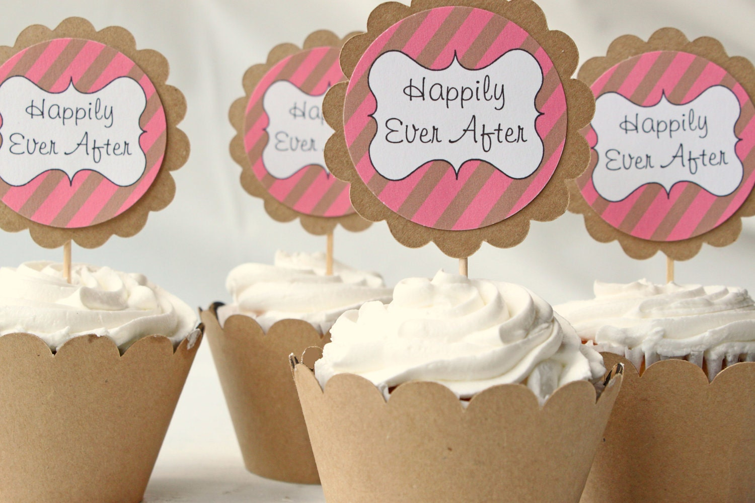 Cupcake Decorating Ideas For Wedding Showers : Wedding Cake Toppers! on Pinterest 62 Pins