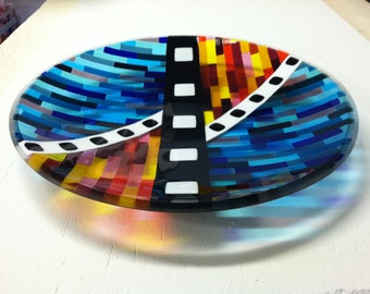 Glass platter/dish/bowl
