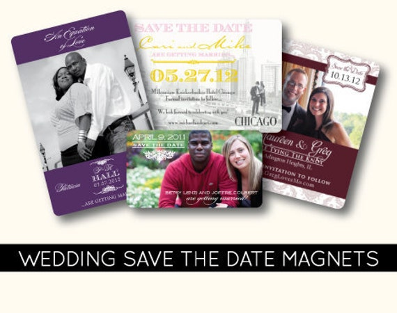 diy save the date magnets template - items similar to wedding save the date magnet printable