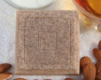 Goatmilk Honey Almond hand & body soap 4 oz.