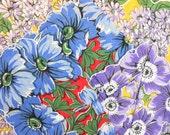 CLEARANCE Vintage Handkerchief Set 3 Decorative Box Bright Florals