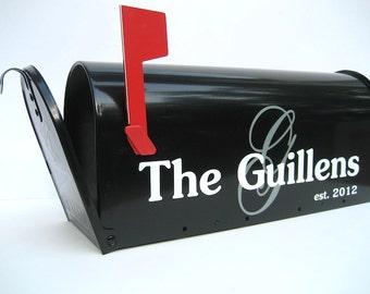 Custom Wedding Card Mailbox - Wedding Card Box - Monogrammed Letter Box -