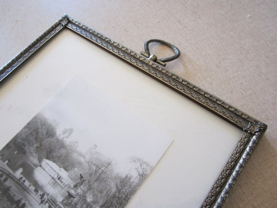 Ornate Regency Style Silver Photo Frame