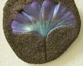 Purple Gingko Leaf