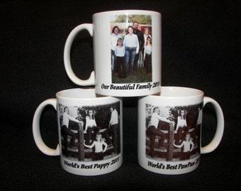 Custom Ceramic Photo Coffee Mug Personalized - Great Gift  Ideas