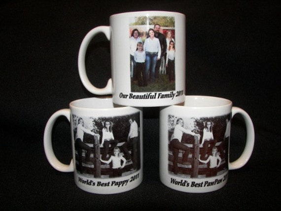 Custom Ceramic Photo Coffee Mug Personalized - Great Gift  Ideas