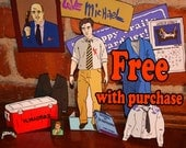 Arrested Development: Michael Bluth Starter Kit (Cut-and-Fold Models, Paper Dolls, Fashion Dolls)