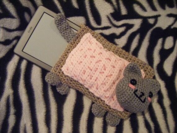 Items similar to Nyan cat pop tart pocket eBook reader ...